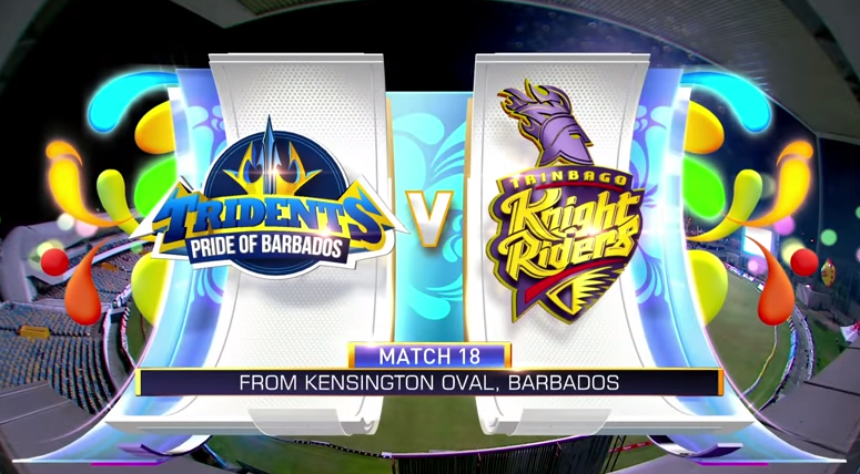 #CPL18 Match Highlights M18: Barbados Tridents v Trinbago Knight Riders