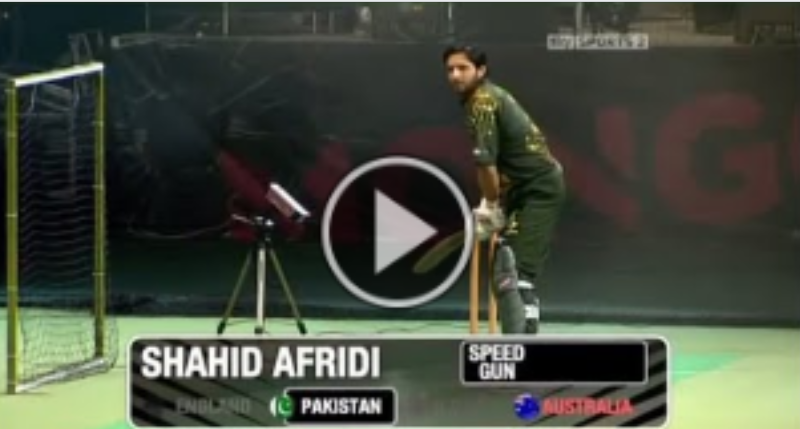 Pakistan vs Australia Power Hitting Challenge Who is Best Shahid Afridi or Adam Gilchrist