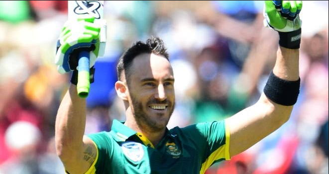 Du Plessis 10th ODI hundred against Australia-Australia vs South Africa-SAvsAUS