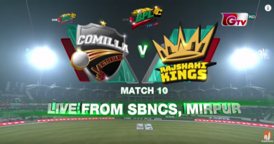Comilla Victorians vs Rajshahi Kings Highlights || 10th Match || Edition 6 || BPL 2019