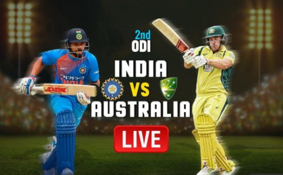 LIVE: Ind vs Aus 2nd ODI | Live Scores, Audio Updates & Analysis