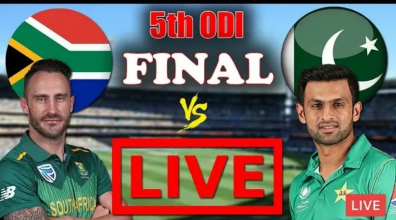 Pakistan Vs SouthAfrica 5th ODI Live | Pakistan Vs South africa 5th Odi Live Match streaming-Geo Tv Live Streaming- Live Cricket Streaming -