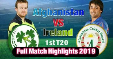 Afghanistan vs Ireland 1st T20 highlights 2019-Geo sports news live cricket