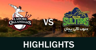 PSL 2019 10th Match Multan Sultan vs Lahore Qalandars Highlights