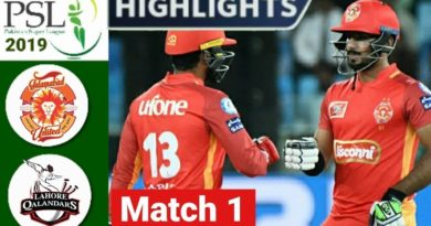 PSL 2019 Highlights Lahore Qalandars Vs Islamabad United-PSL 2019-psl teams-watch psl live-psl live tv-psl Pakistan-watch psl live streaming