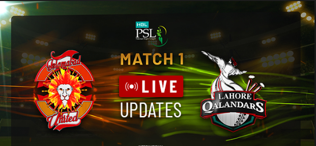 Watch live Today PSL match Islamabad United vs Lahore Qalandars - PSL 2019 Match 1-PSL 2019-Live Cricket Streaming-PSL 2019