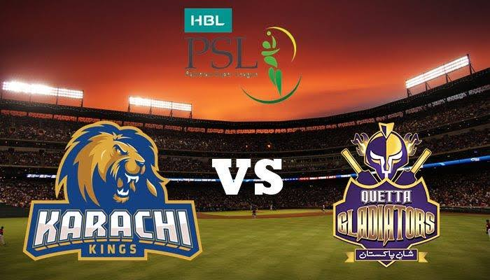 PSL Live Streaming Match 28 Karachi Kings vs Quetta Gladiators– Live Cricket Streaming--PSL 2019-ICC World Cup-World Cup 2019 Cricket