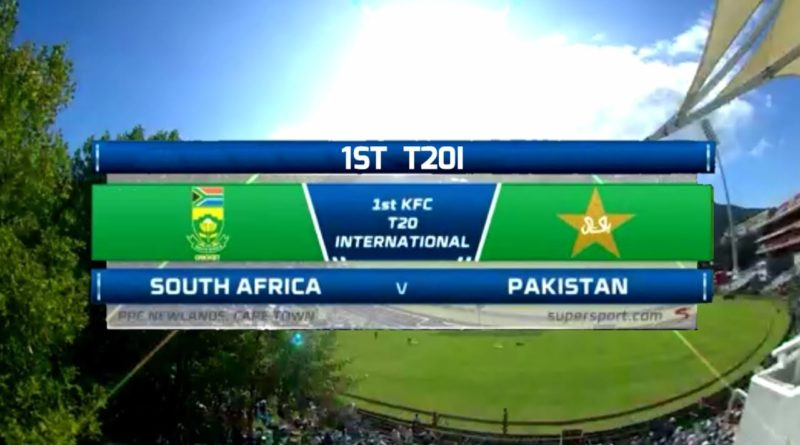 1st T20I Highlights South Africa vs Pakistan-Geo TV Live Streaming -Geo Tv Live Streaming- Live Cricket Streaming -