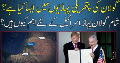 Golan Heights Documentary In URDU-Importance of Golan Heights For All