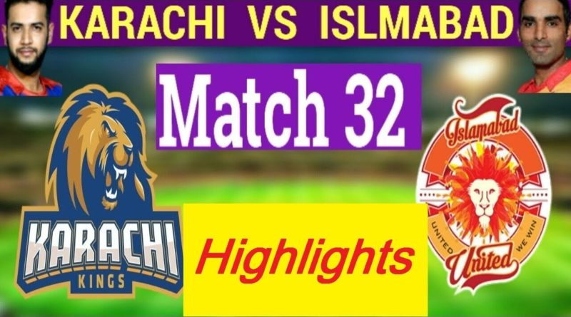 PSL 2019 Full Highlights - Eliminator 1 - Karachi Kings vs Islamabad United