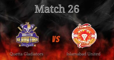 PSL 2019 Full Highlights-Match 26-Qquetta Gladiators vs Islamabad United – Live Cricket Streaming-PSL 2019-QG VS IU-IU VS QG MATCH 26 PSL 4