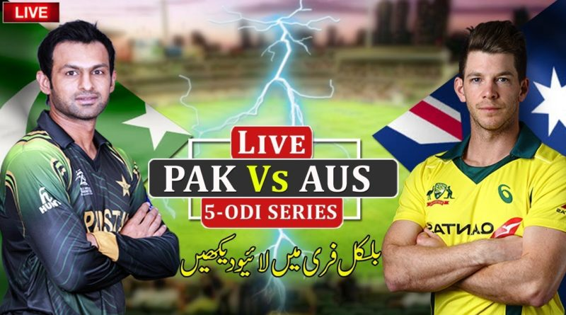 Pakistan vs Australia Live Streaming ODI Series 2019-PAK vs AUS
