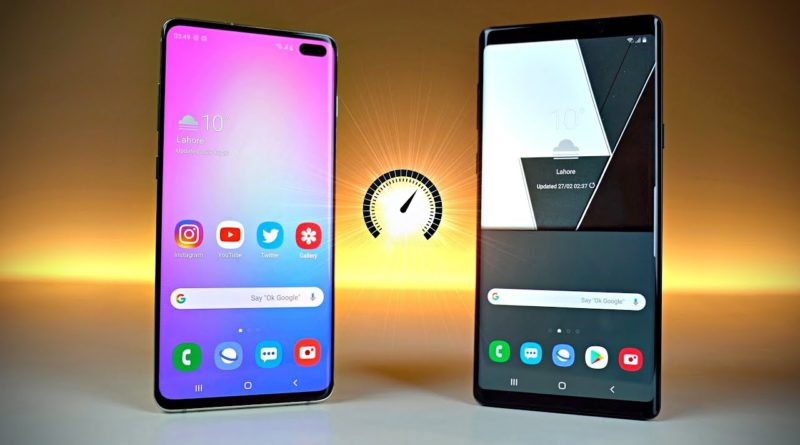Samsung Galaxy S10+ vs Galaxy Note 9 Speed Test & Review