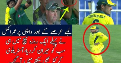 Umar Akmal STUNNED every one with his brilliant batting in 1st ODI Pak vs Aus