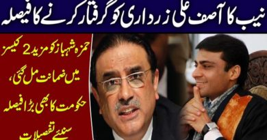 NAB decides to arrest Asif Ali Zardari | Hamza Shehbaz gets bail in two more cases