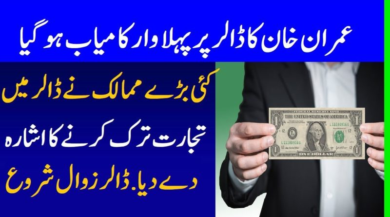 A Brave Decision Of Prime Minister Imran Khan Deal With China In Local Currency Instead of Dollar