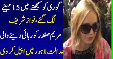 Czech Republic Model Tereza Huskova Appeal In Lahore Court Against 8 Years Sentence