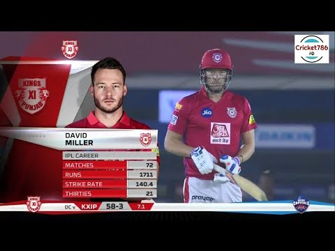 IPL 2019 Match 13 KXIP vs DC Highlights | David Miller 43 Runs off 30 Balls