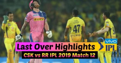 Last Over IPL 2019 Match 12 CSK vs RR | Chennai Super Kings vs Rajasthan Royals