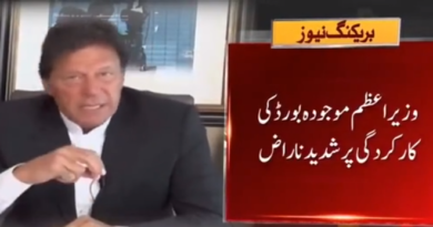 Imran Khan Angry With PCB Chairman Ehsan Mani Over Poor Performance