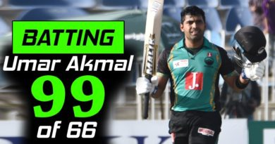 Umar Akmal Brilliant 99 runs in just 68 balls with 6 Sixes | Pakistan Cup 2019