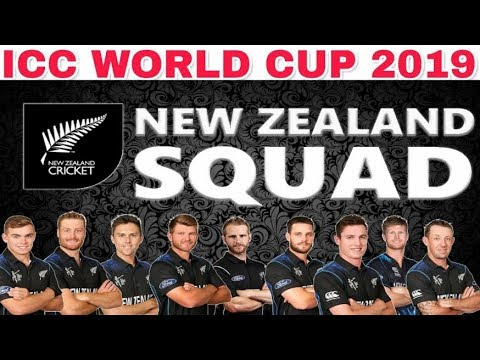 ICC WORLD CUP 2019 NEW ZEALAND TEAM SQUAD ANNOUNCED
