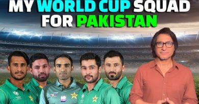 My World Cup Squad for Pakistan | Ramiz Speaks-World Cup 2019