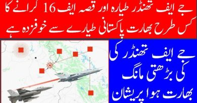 JF 17 creates History but India is giving credit to F 16-Geo Urdu News