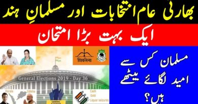 Indian Elections 2019 | The Muslims of India and Their Choice-Geo Urdu
