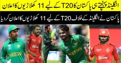 Pakistan | Confirm Playing 11 | Against England | 1st T20 | Pakistan Playing 11 | 1st T20