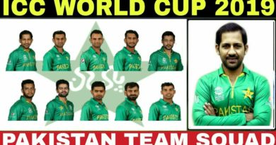Pakistan announced squad for ICC World Cup 2019, & England series
