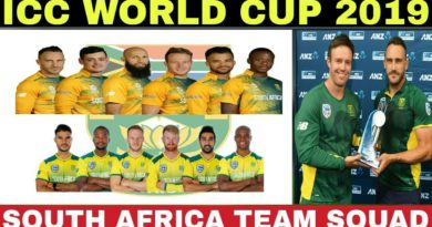 ICC WORLD CUP 2019 SOUTH AFRICA TEAM SQUAD ANNOUNCED