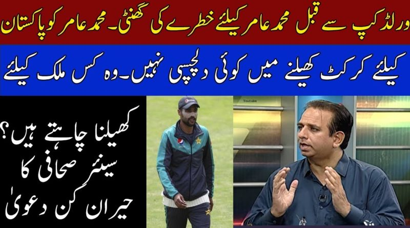 Fast Bowler Muhammad Amir Is Not Interested To Play For Pakistan Claim By Saleem Khaliq