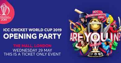 Opening Party - ICC Men's Cricket World Cup 2019-Cricket World Cup