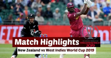 New Zealand vs West Indies Warmup Match Full HIghlights - ICC Cricket World Cup 2019