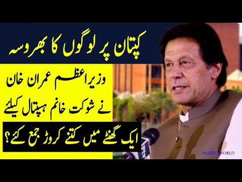 One Hour & 20 Crores - PM Imran Khan Collect 20 Crores Donations For Shaukat Khanum Hospital