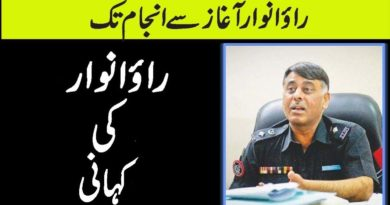 Rao Anwar | akhir hai kon | Rao Anwar History And Whole Record Exposed