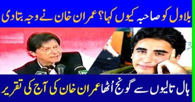 Prime Minister Imran Khan First Time Hard Reply To Bilawal Sahiba - Imran Khan Nailed Bilawal Sahiba