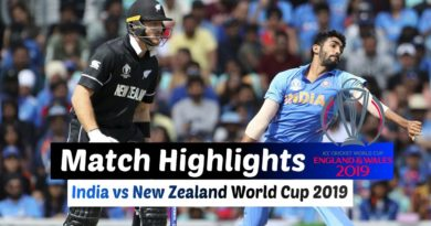 India vs New Zealand Warmup Match Full Highlights ICC Cricket World Cup 2019