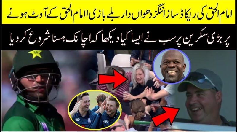 Girl | Shocking Reaction | After Imam Ul Haq Goes Pavilion | Pakistan Vs England 3rd Odi 2019