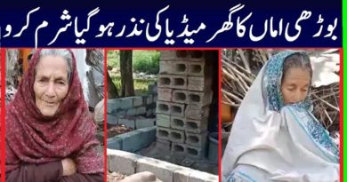 Media Propaganda Against Old Homeless Lady Home Construction Who Request From PTI Imran Khan