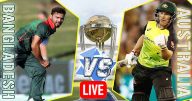 AUSTRALIA VS BANGLADESH World Cup 2019 Live Match-ICC Cricket World Cup 2019