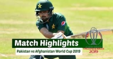 Pakistan vs Afghanistan match highlights-ICC Cricket World Cup 2019