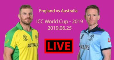 England vs Australia Live Match ICC Cricket World Cup 2019