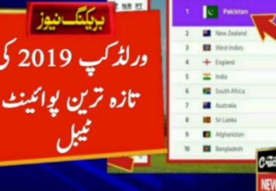 World Cup 2019 Latest Point Table 2019 After 31 Match-Geo Urdu