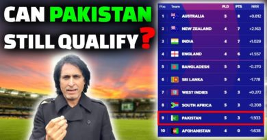 Can Pakistan Still Qualify? | Ramiz Speaks-ICC Cricket World Cup 2019