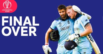 England Vs New Zealand WorldCup Super Over Final Last Ball Highlight