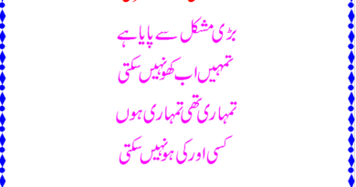 Best urdu poetry in the world-Love couple poetry-love poetry sms