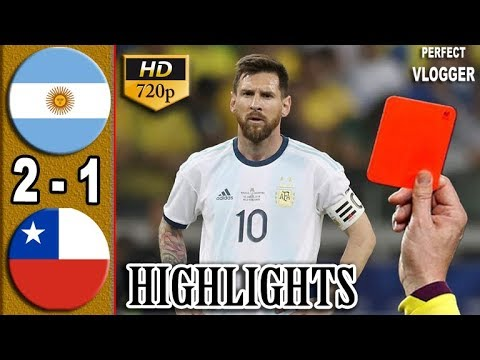 Argentina vs Chile(2-1)Highlights and goals-Geo Football