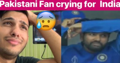 India lost Semifinal INDvsNZ Pakistani Fan crying for neighbors